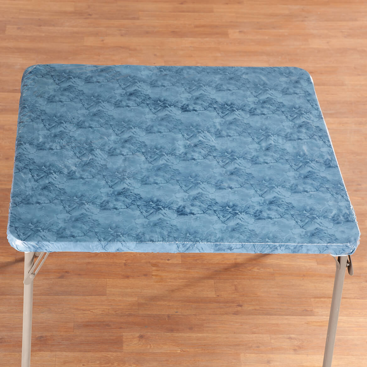 Marbled Elasticized Banquet Tablecover-356493