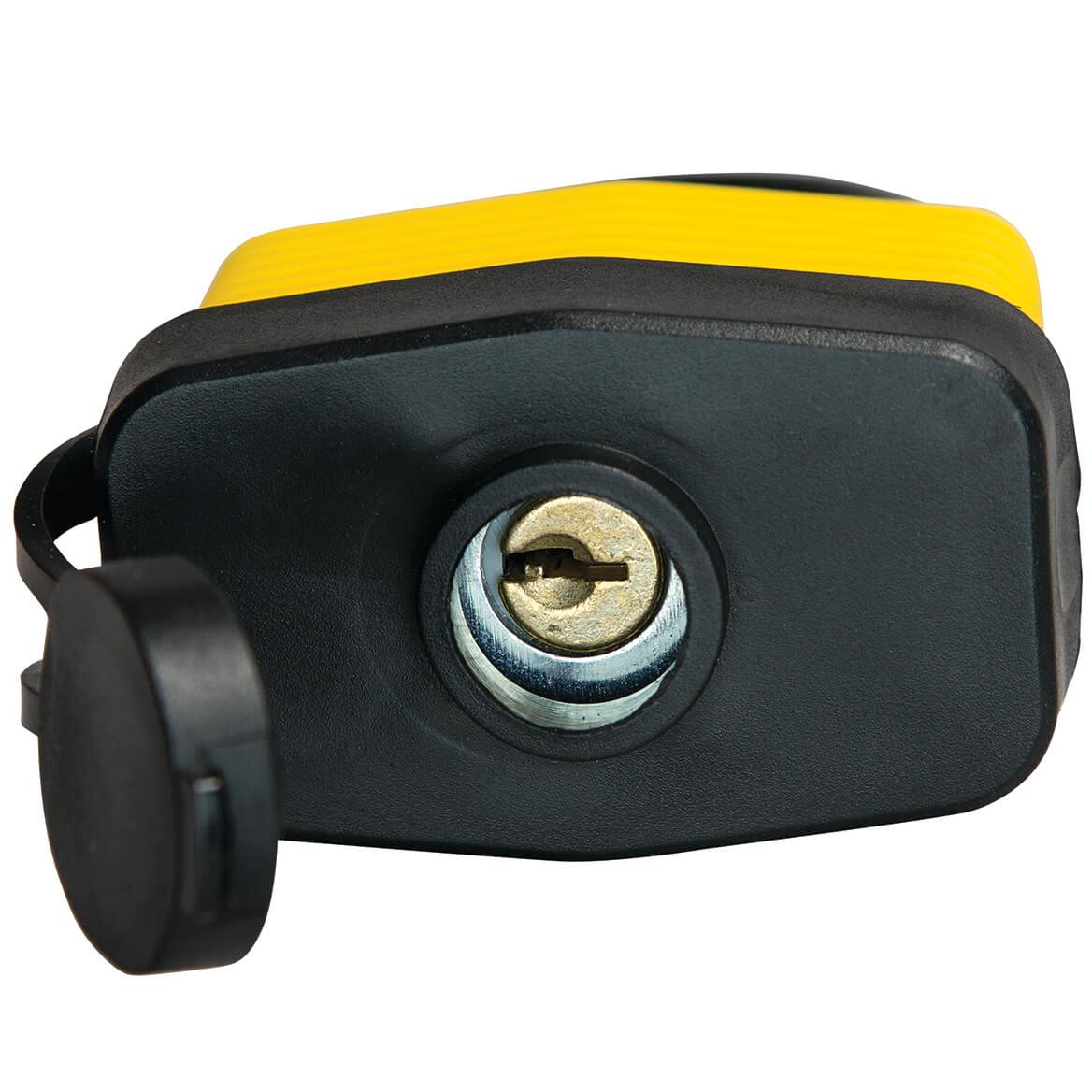Weatherproof Lock with Three Keys-356653