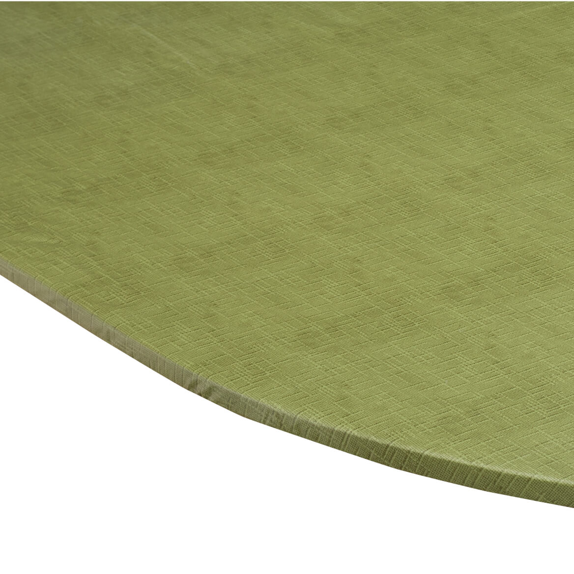 Illusion Weave Vinyl Elasticized Table Cover By Home-Style Kitchen™-356713