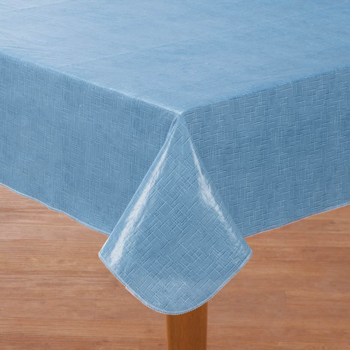 Illusion Weave Vinyl Drop Table Cover By Home-Style Kitchen™-356714