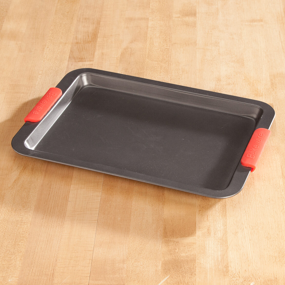 Baking Sheet with Red Silicone Handles by Home-Style Kitchen-356752
