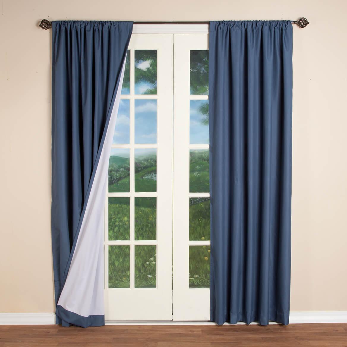 Microfiber Energy Saving Curtains-357338