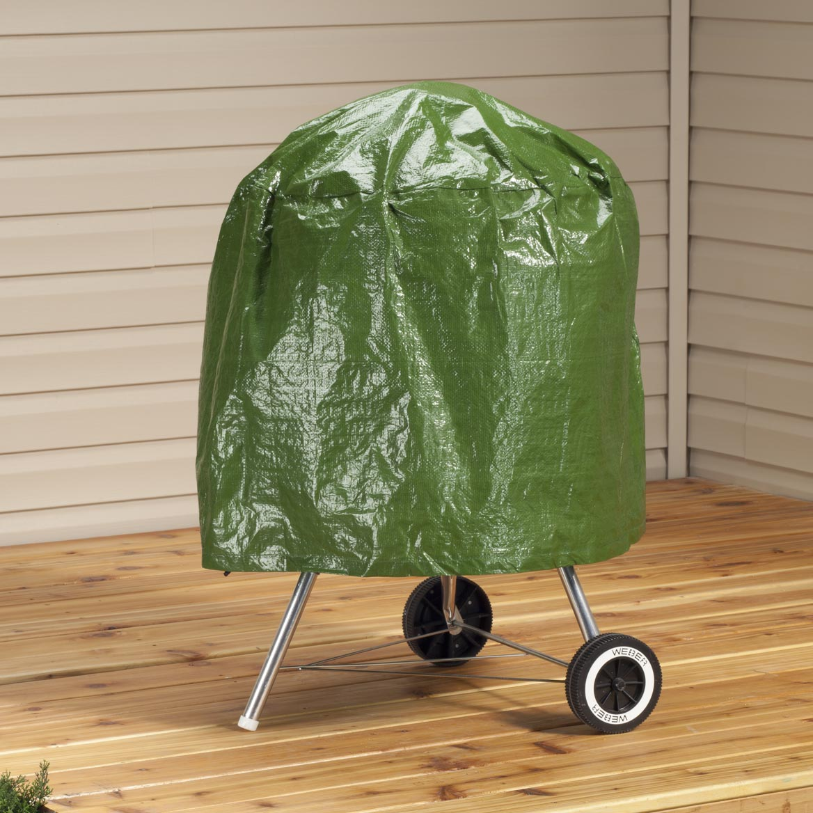"""Kettle Style Grill Cover, 23""""H x 27""""W-358351"""