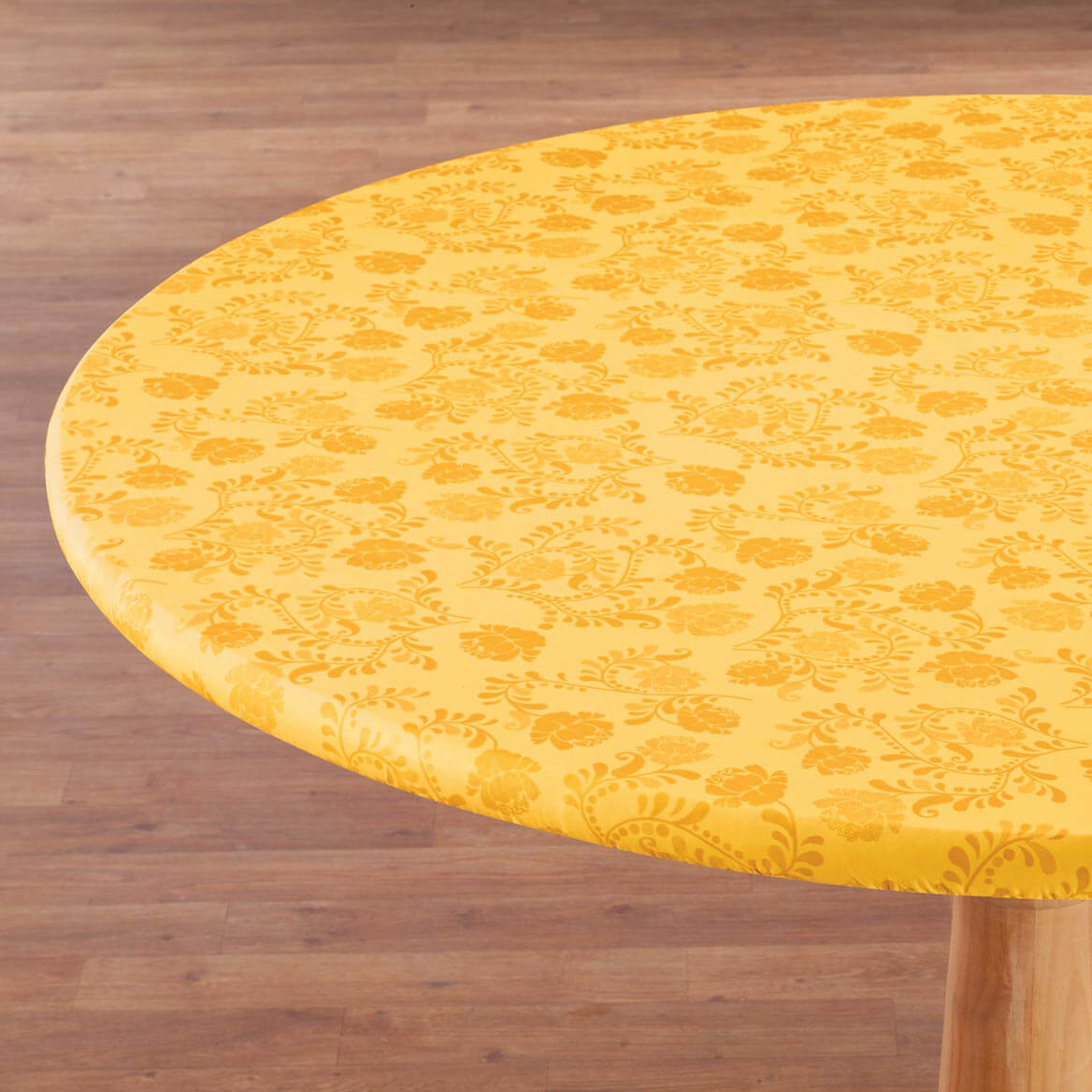 The Kathleen Vinyl Elasticized Tablecover By Home-Style Kitchen™-358486