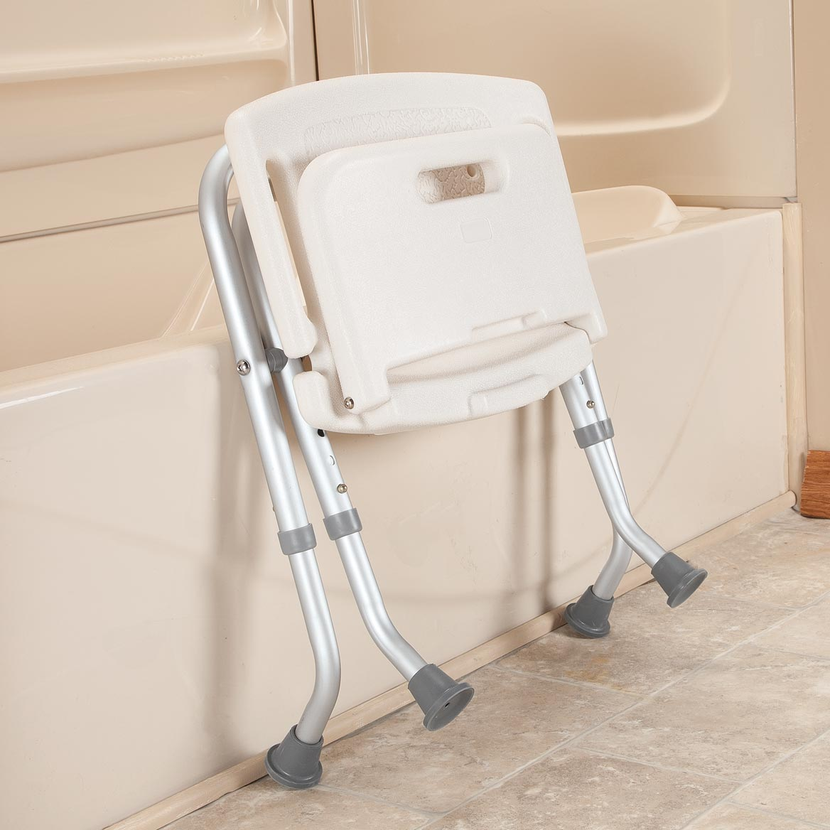 Folding Bath Seat with Back      XL-358607