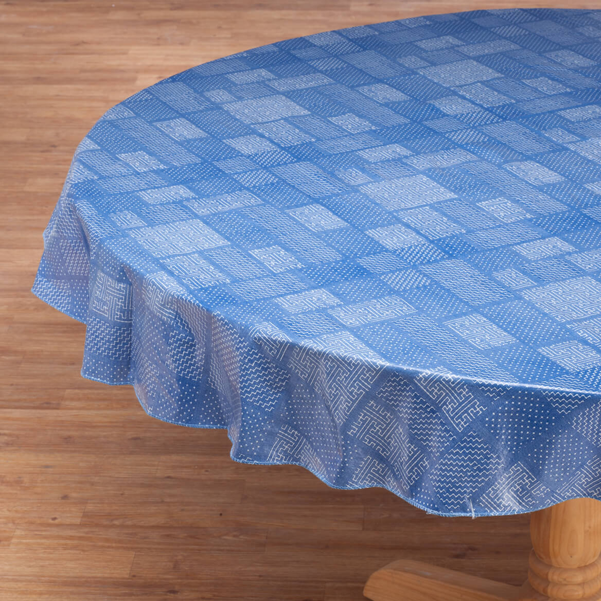 Patchwork Vinyl Tablecover by Home-Style Kitchen™-358639