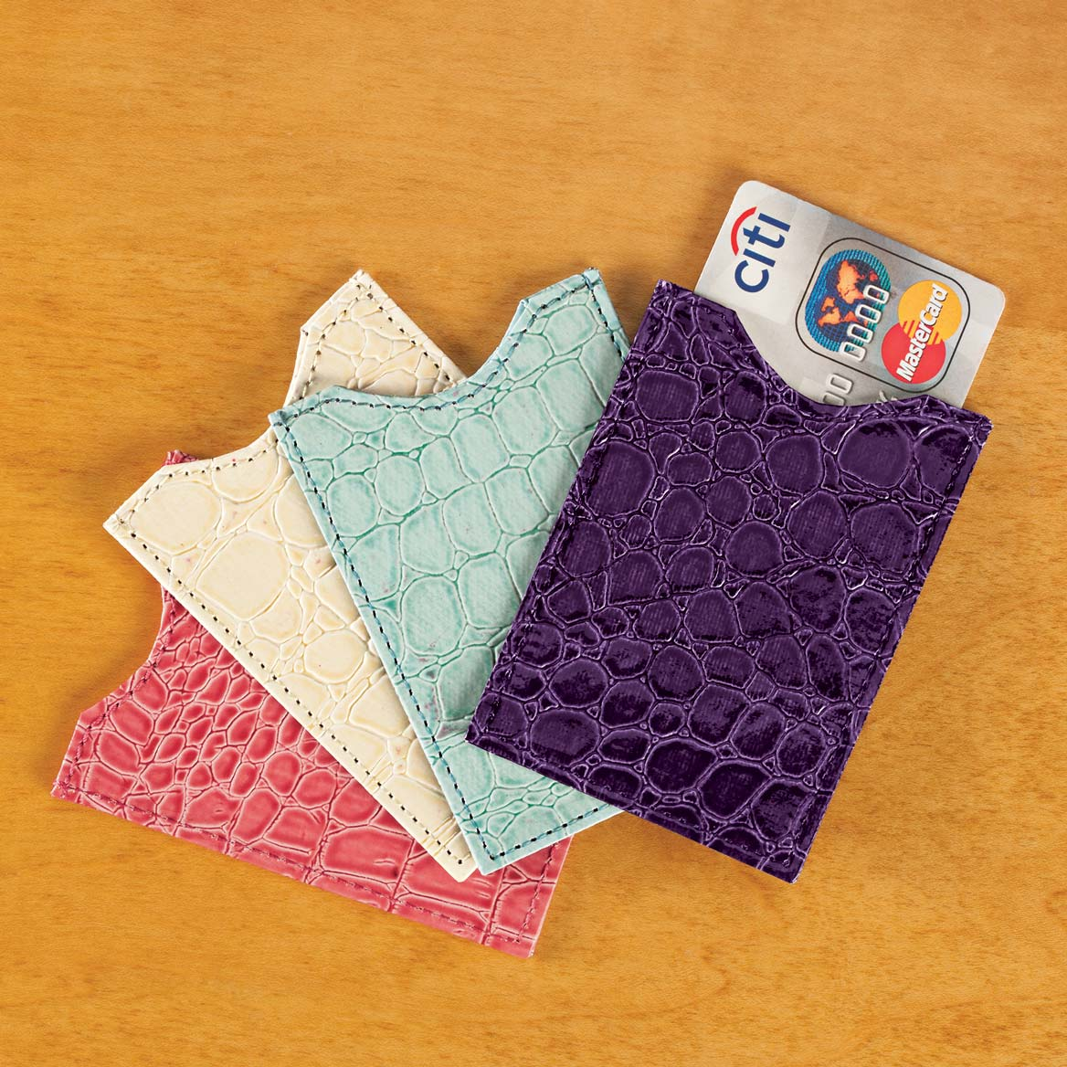 Colorful RFID Sleeves Set of 4-359136