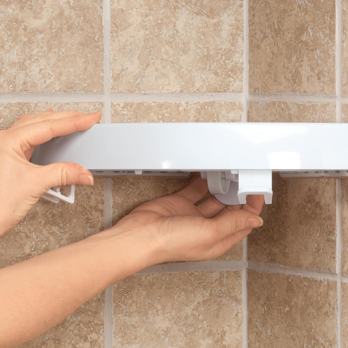 Self Adhesive Corner Shelf-359821