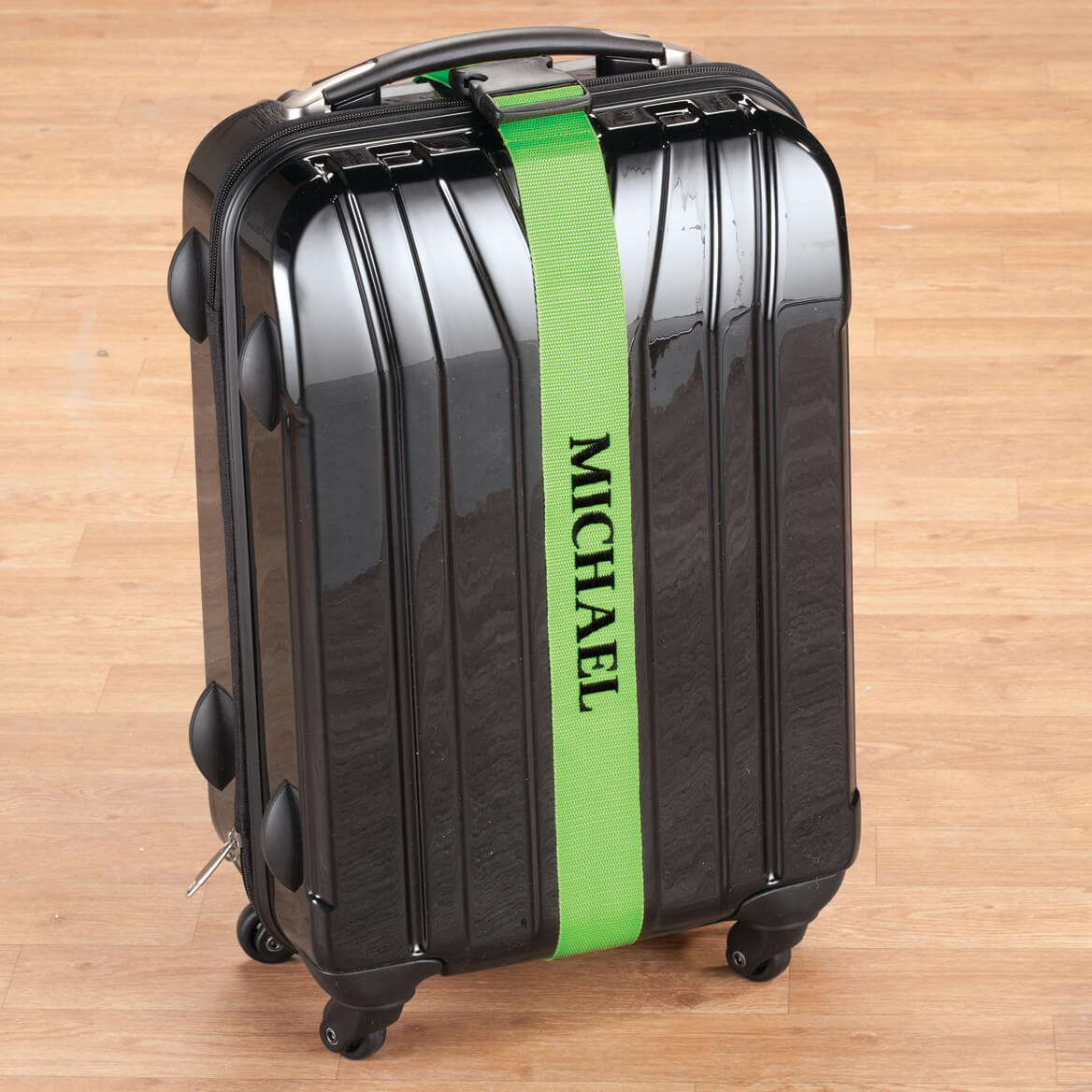 Personalized Green Luggage Strap-360017