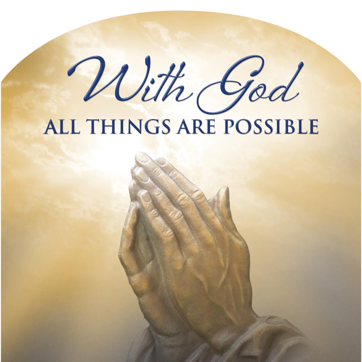 Mini Magnetic Calendar Praying Hands 360118 2