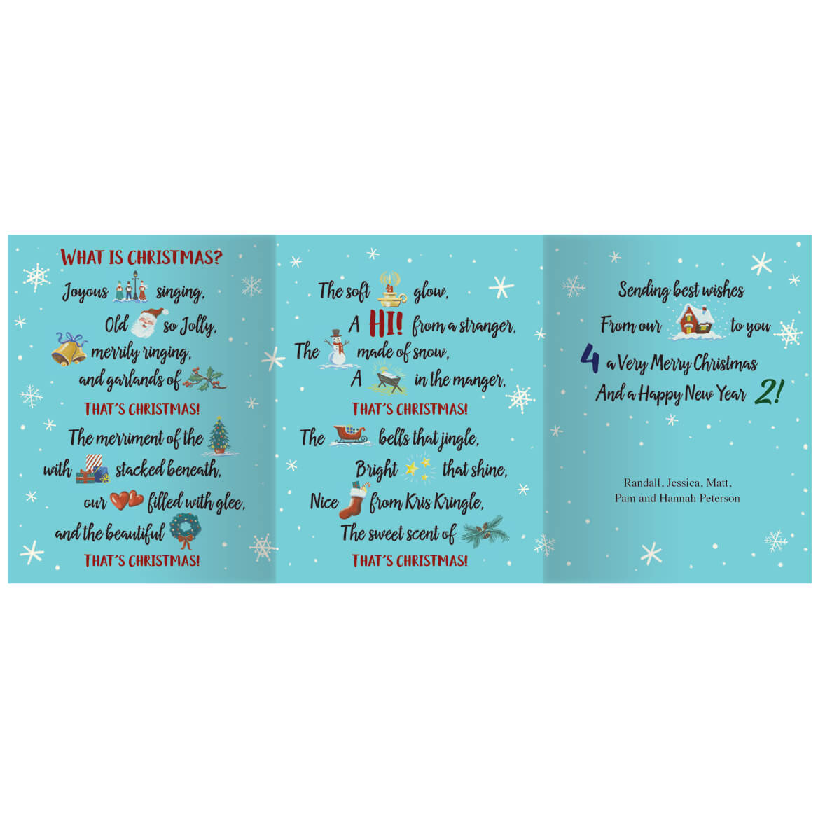 Personalized What is Christmas Card Set of 20-360161