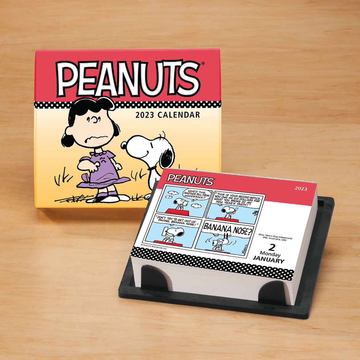 Day To Day Calendar 2019 Peanuts Day To Day Desk Calendar   Daily Calendar   Miles Kimball