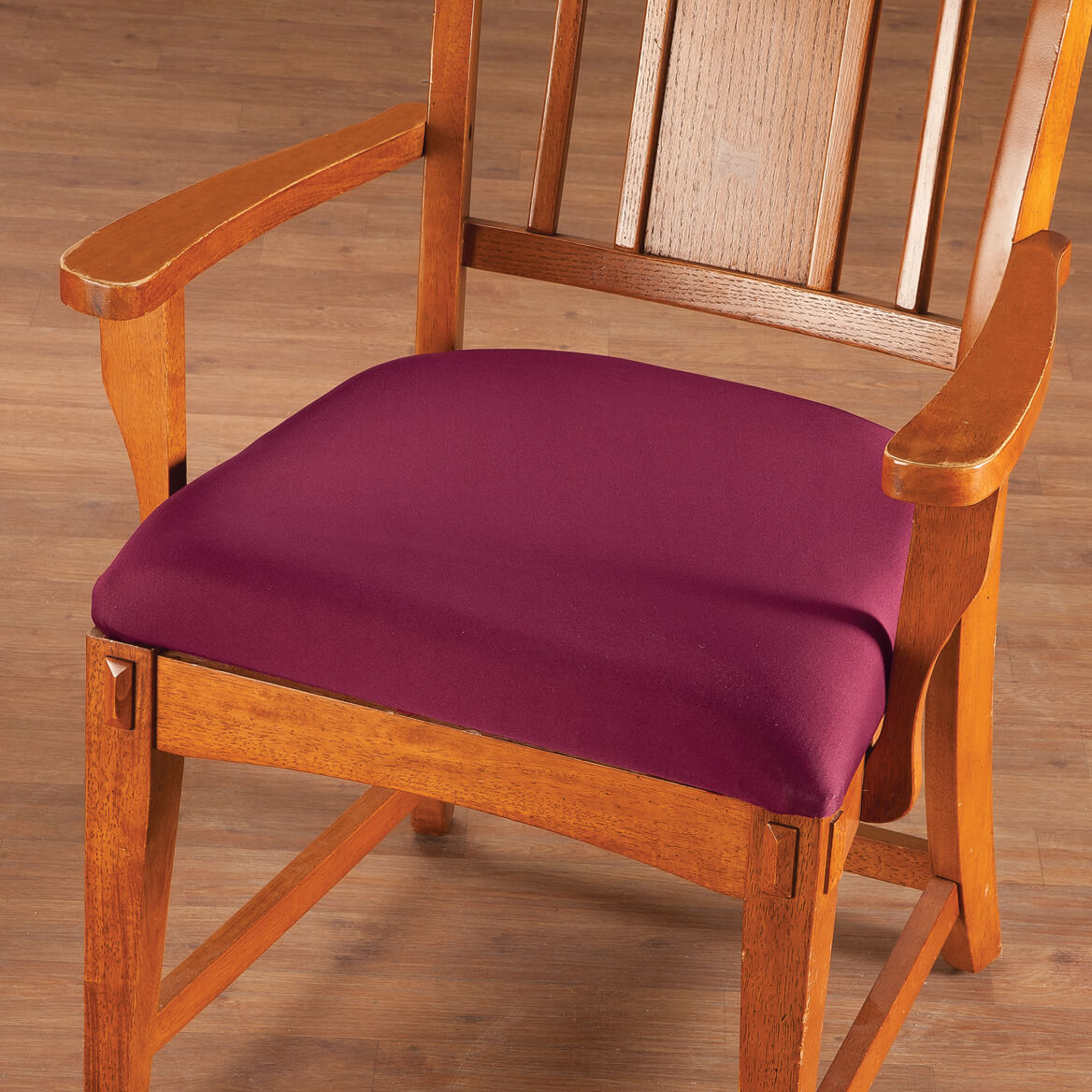 Set of 2 Deluxe Reversible Seat Covers Protector Stretch to fit Elastic Edge NEW