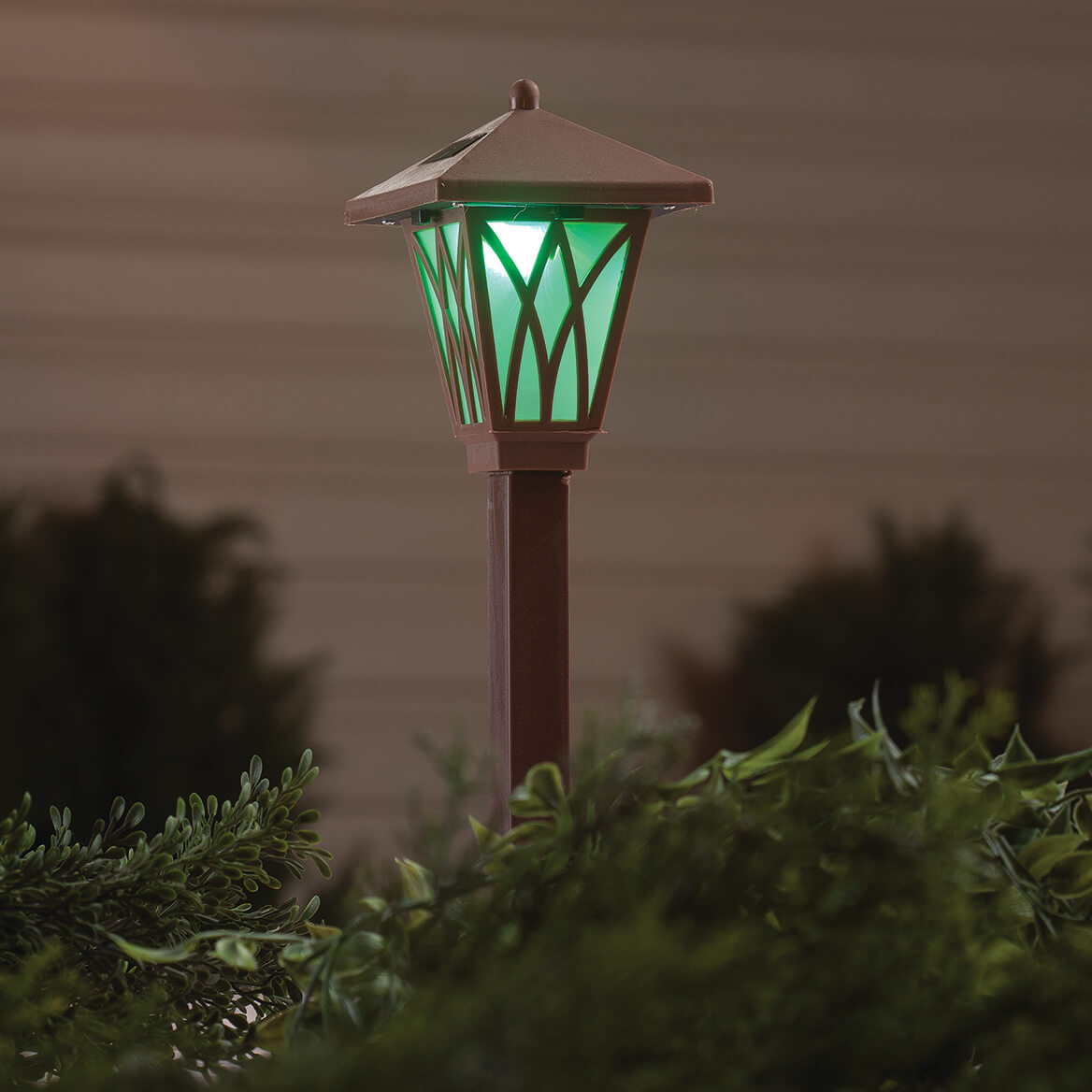 Brown Color Changing Solar Light