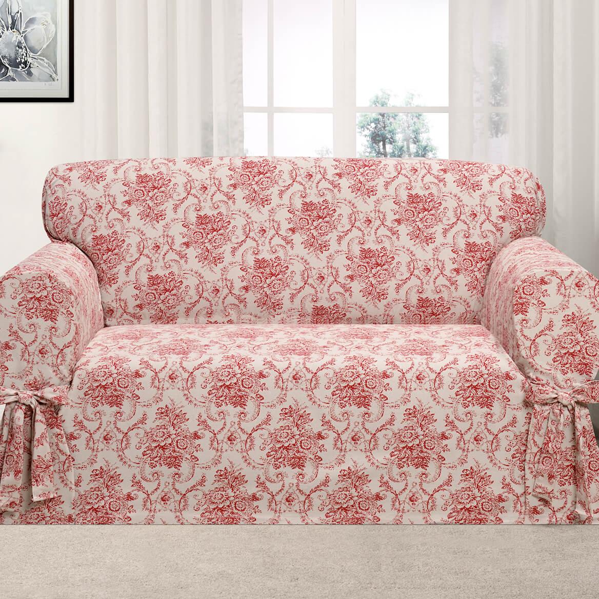 Kathy Ireland Chateau Loveseat Slipcover-362616