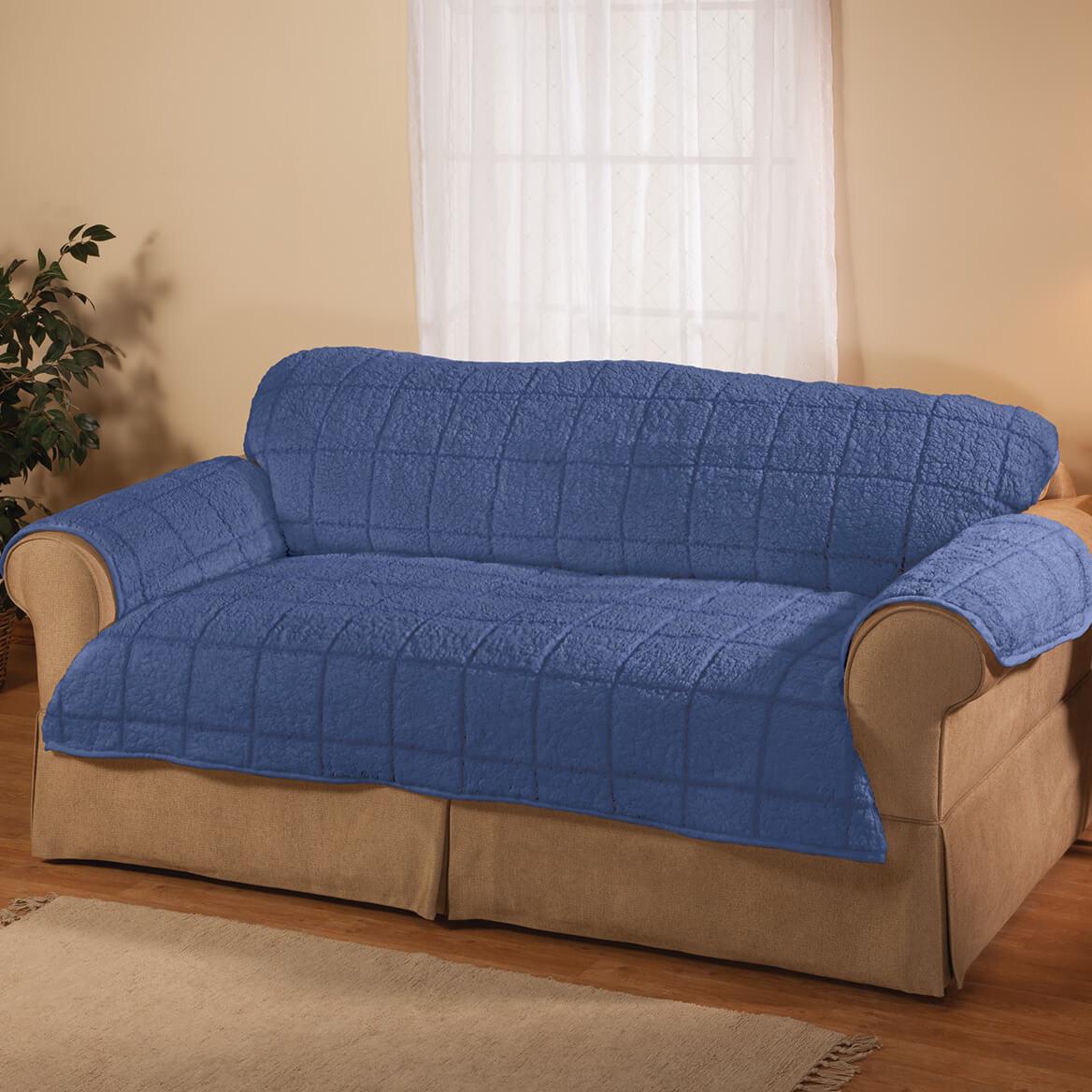 Bradley Sherpa Sofa Protector by OakRidge-362643