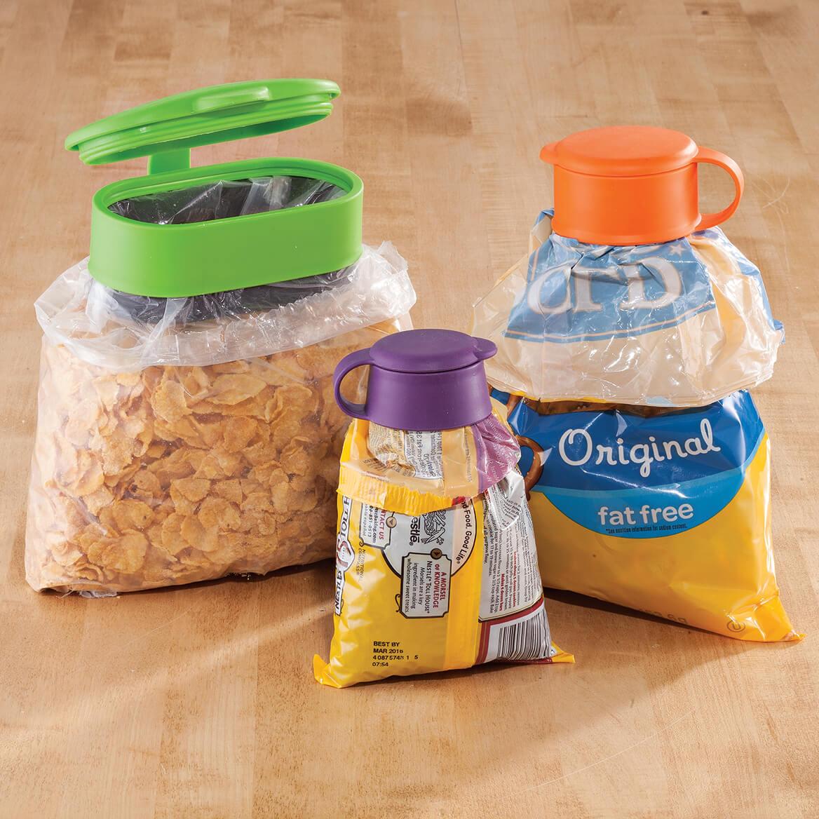 Easy Pour Bag Clips, Set of 3-363286