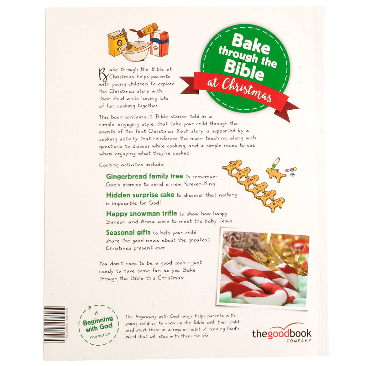 Bake Through the Bible at Christmas - Kids Cookbook - Walter Drake