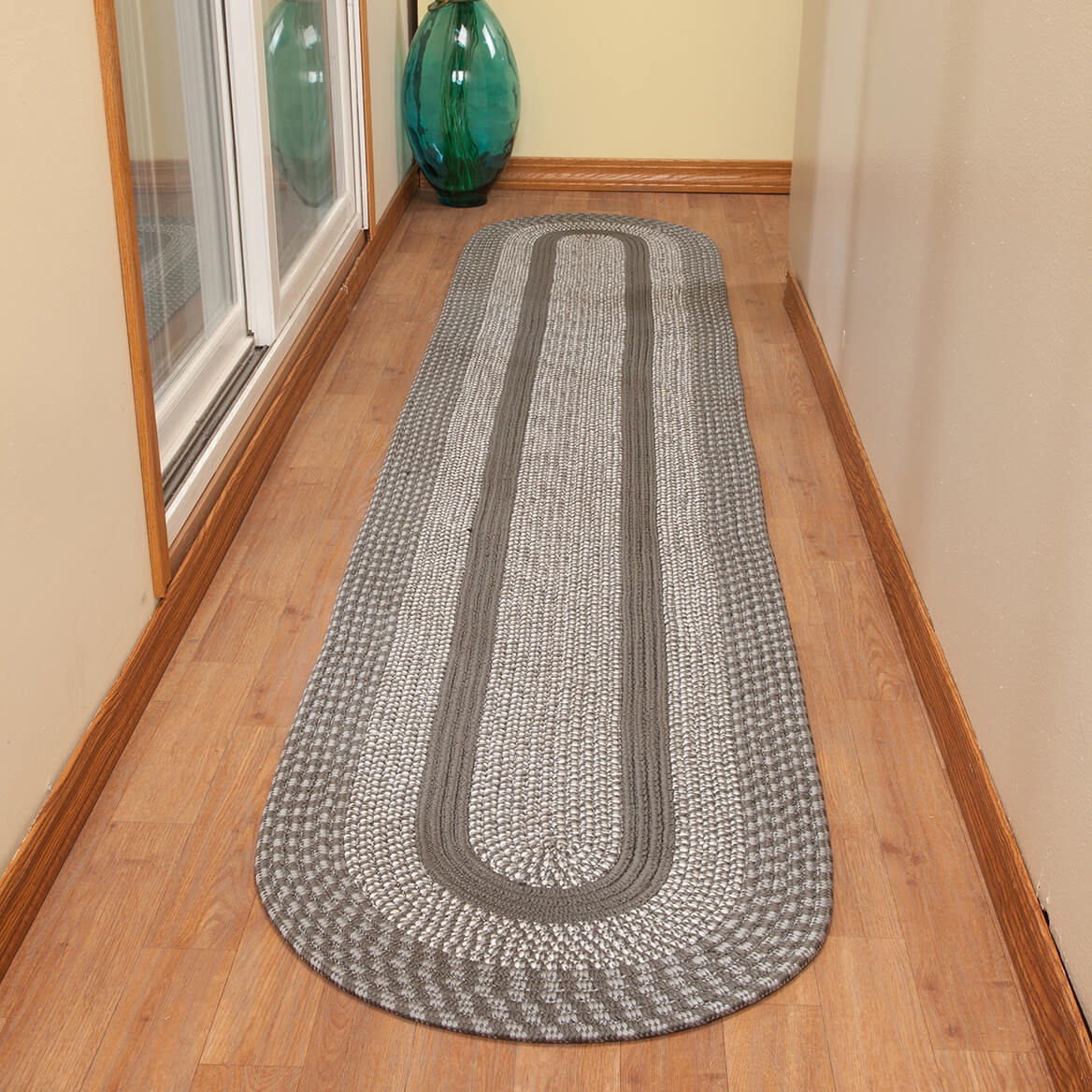 Two-Tone Country Braided Rug by OakRidge™-363863