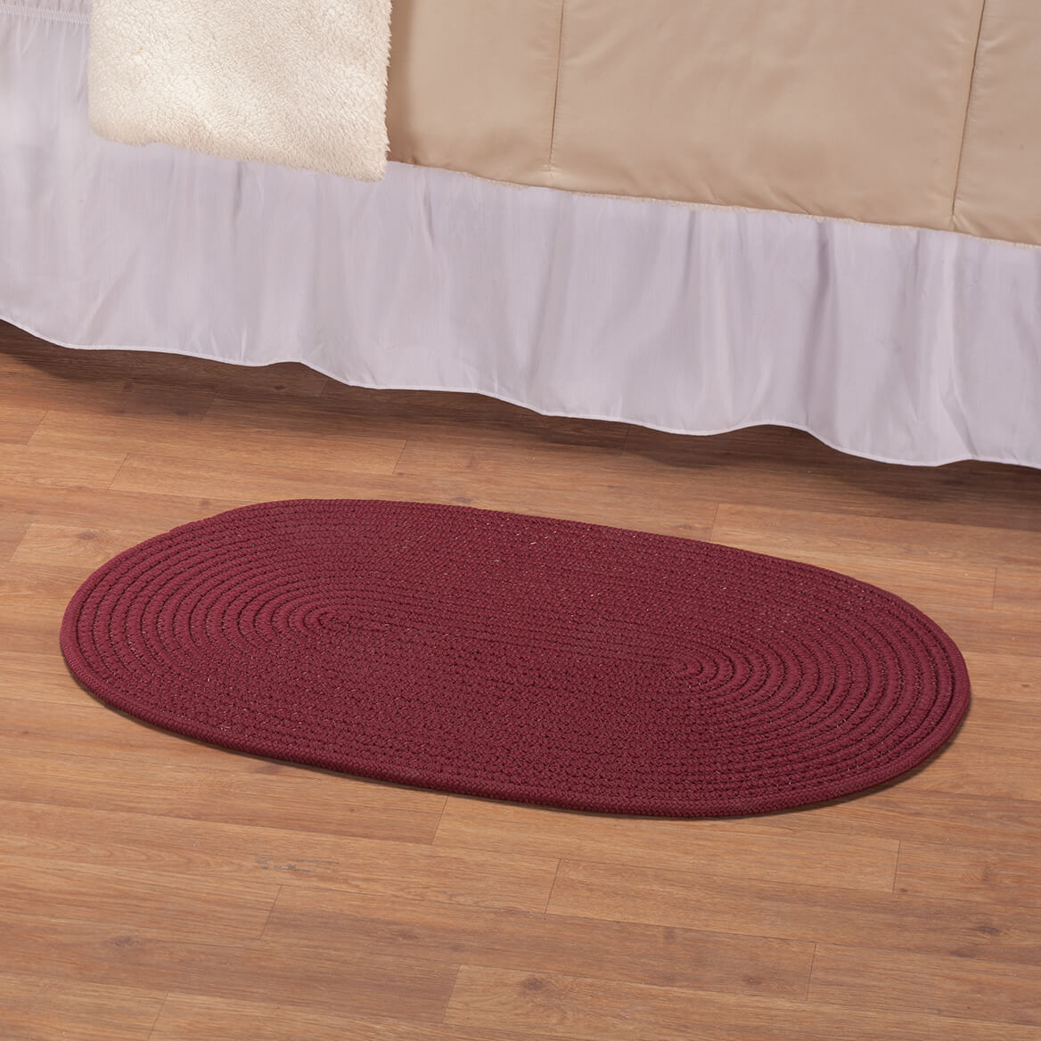 Solid Traditional Braided Rug by OakRidge™-363864