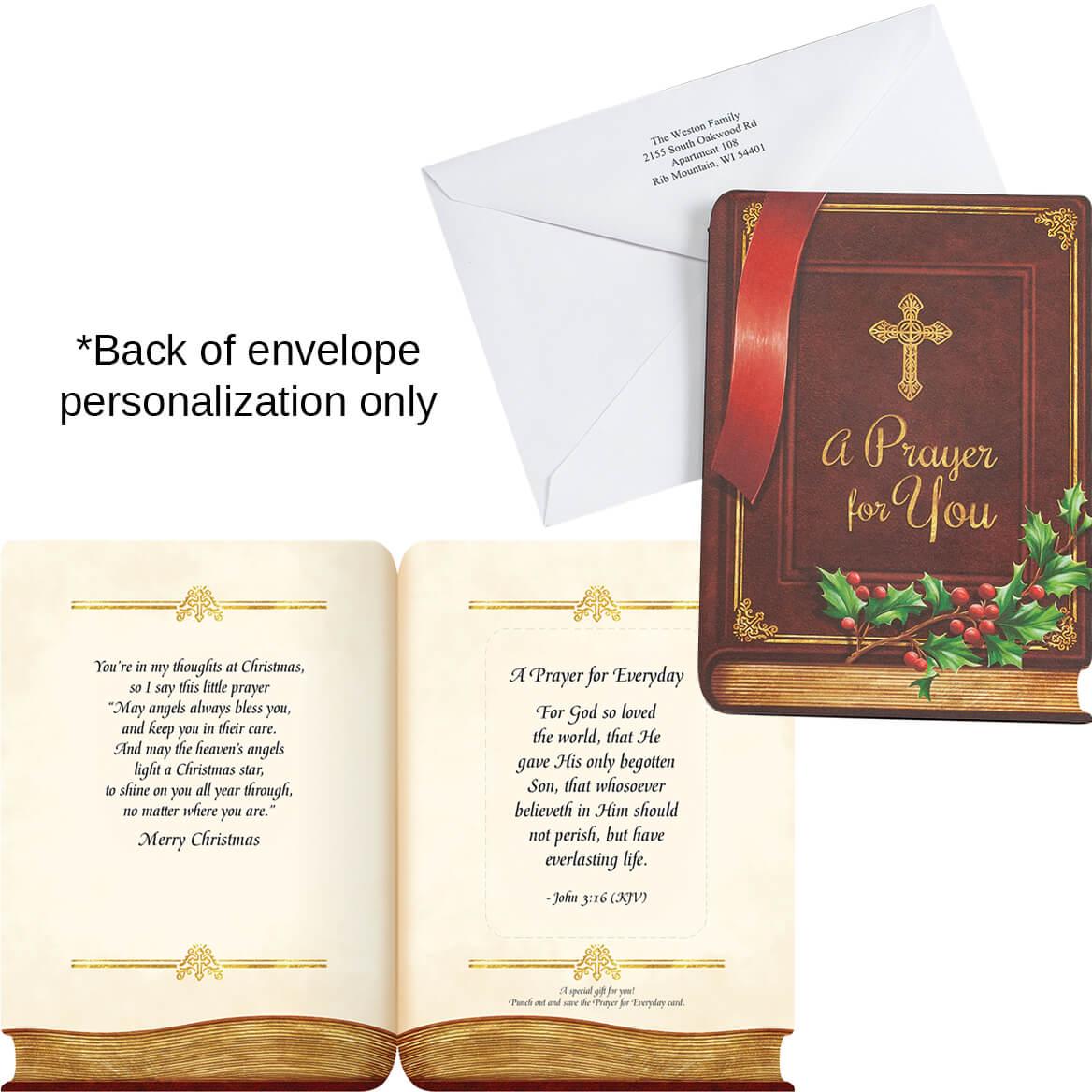Prayer Card Gift Christmas Card Set of 20-364042