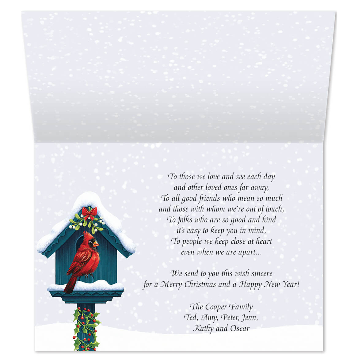 Festive Friends Personalized Christmas Cards Walter Drake