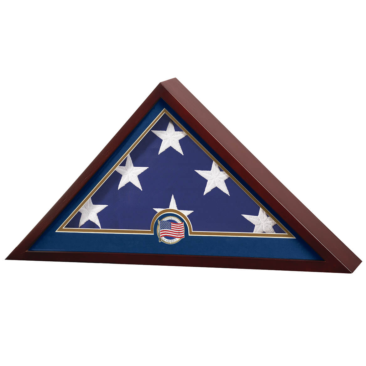 Flag Display Case with Medallion-364151