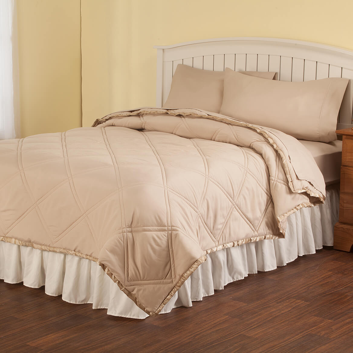 Microfiber Comforter and Sheet Set-364581