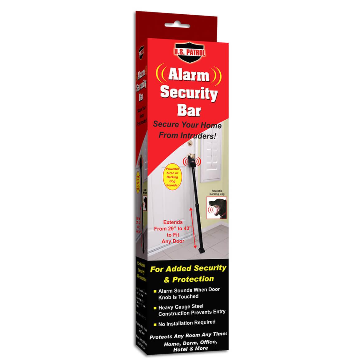 Door Security Bar with Alarm-364596