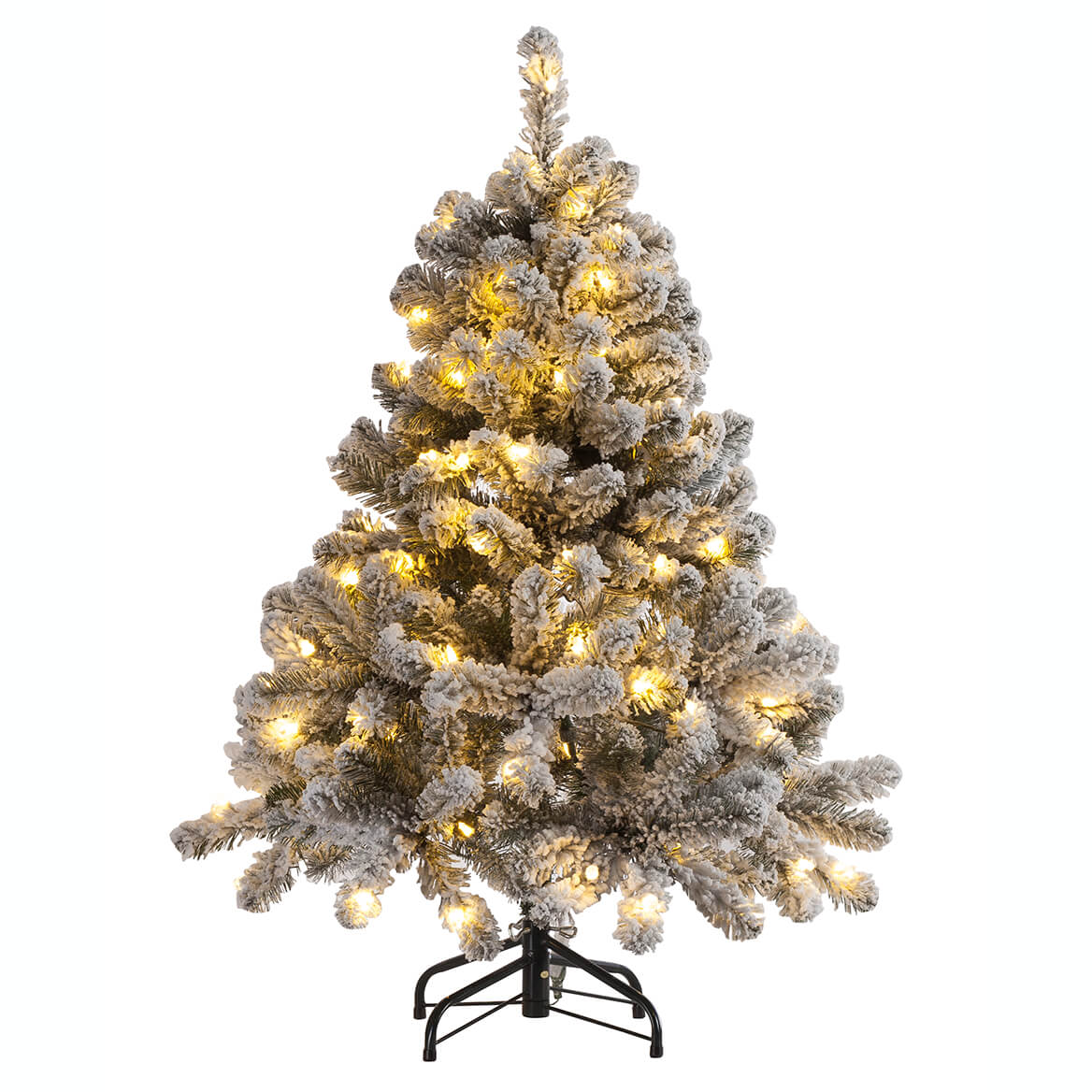 4' Color-Changing Flocked Tree Holiday Peak™-364660