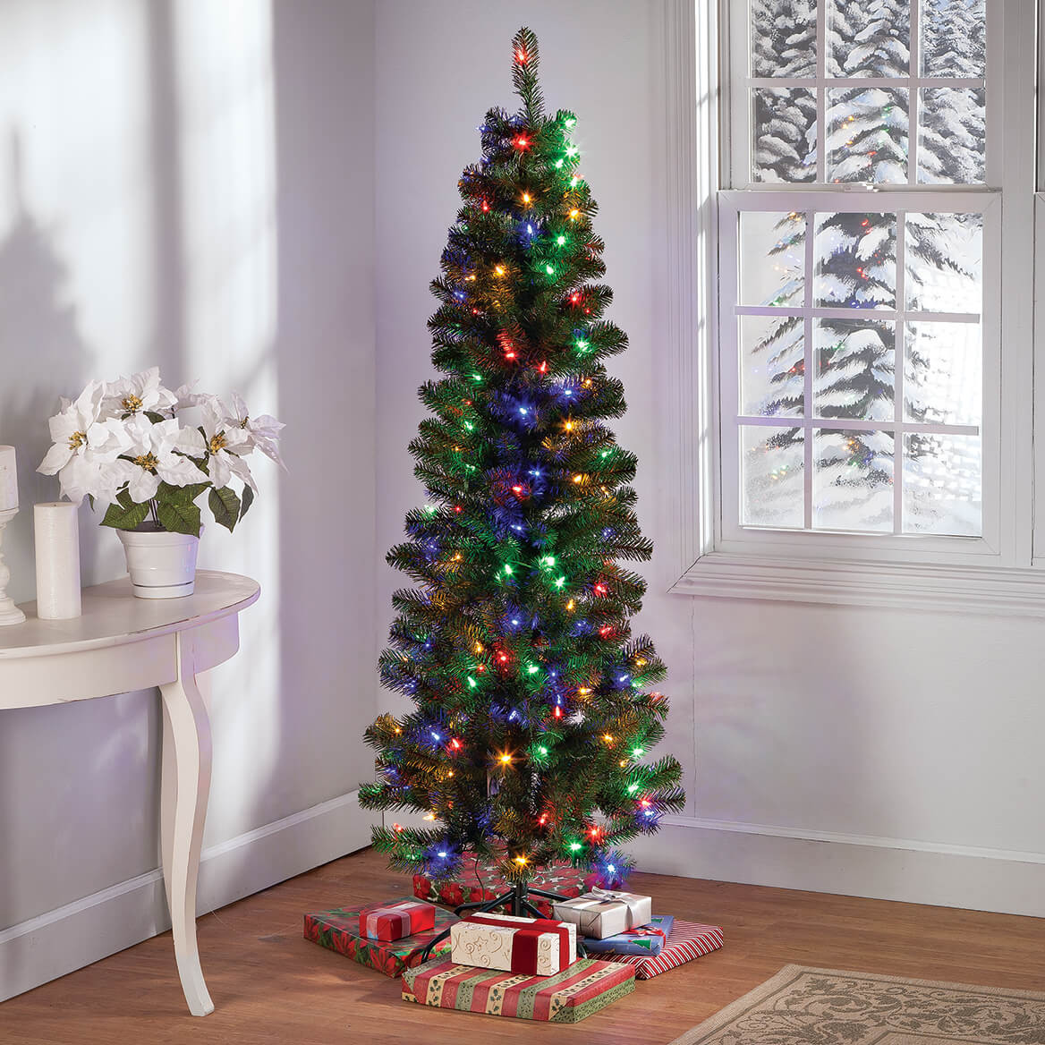 ... 6-Ft. Color-Changing Pencil Tree by Holiday Peak™-364661