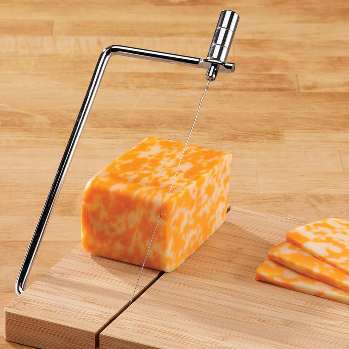 Bamboo Cheese Slicer-364703