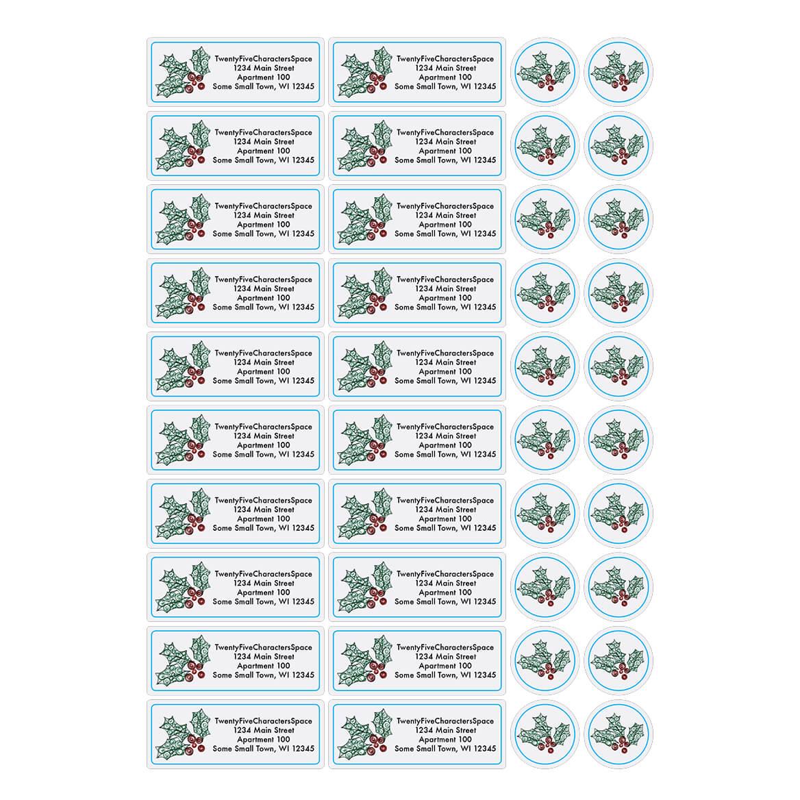 Personalized Paper Filigree Address Labels & Seals 20-364727