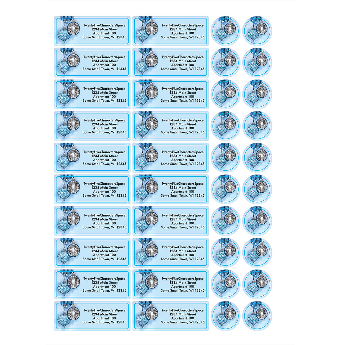 Personalized The Holy Light Address Labels & Seals 20-364746