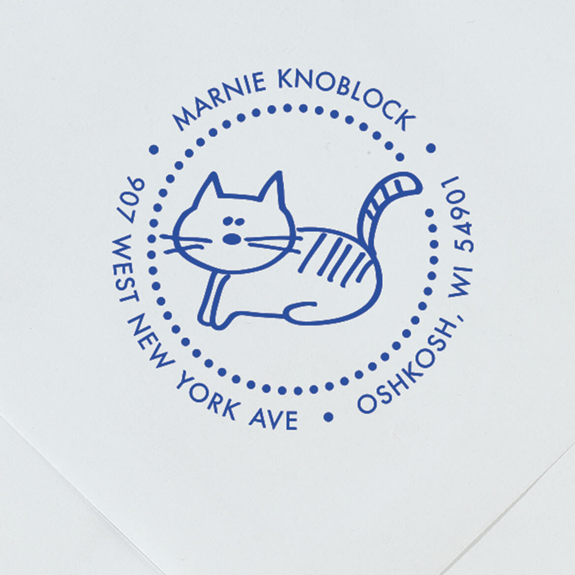 Personalized Cat Stamper-365613