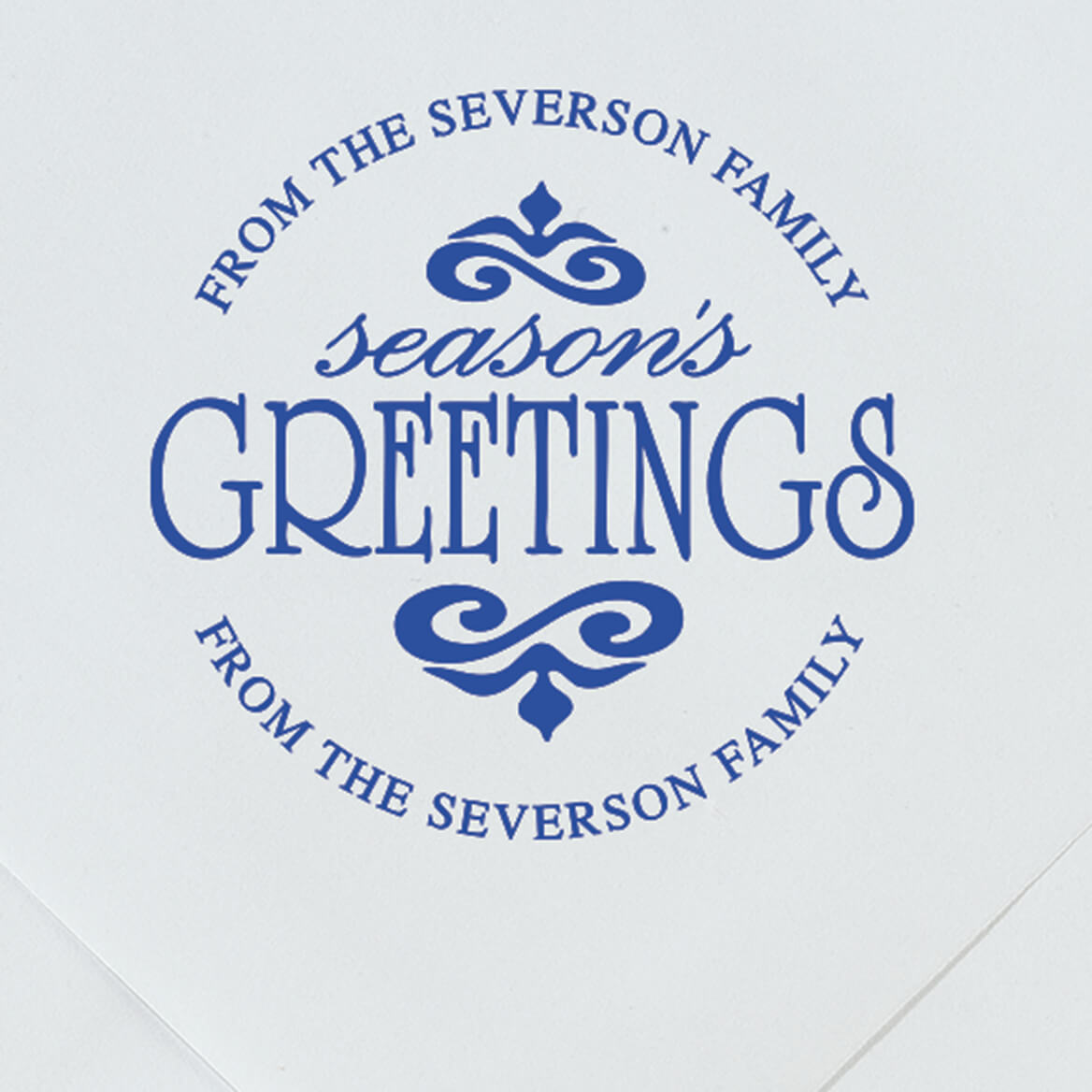 Personalized Season's Greeting Stamper-365614