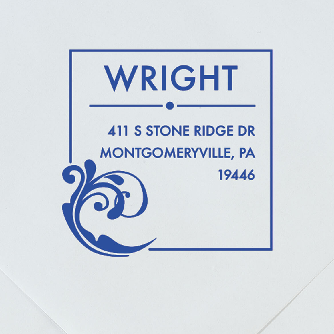 Personalized Wave Stamper-365615