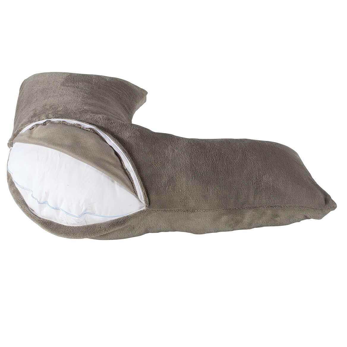 Plush L-Shaped Pillow Cover by LivingSURE™-365687