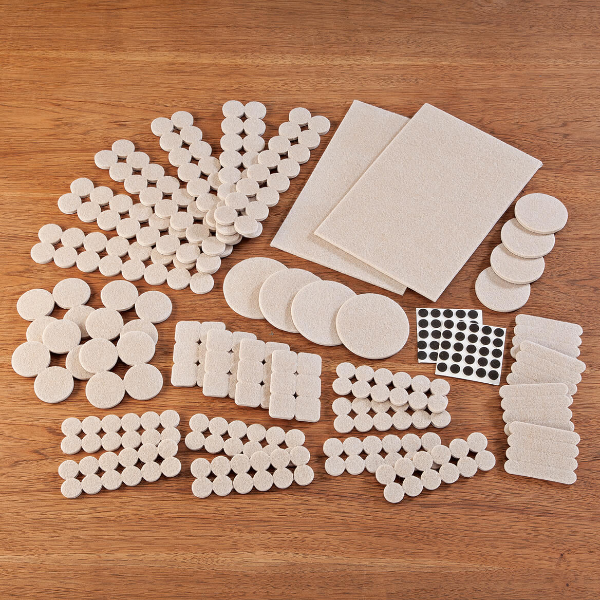 308-Piece Furniture Pad Variety Pack by LivingSURE™-366048