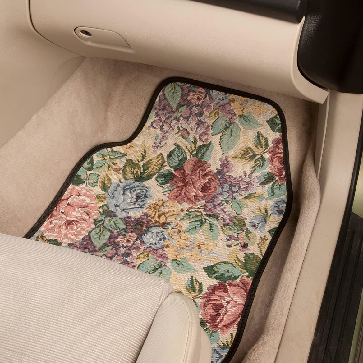 Tapestry Car Mats, Set of 4-366611