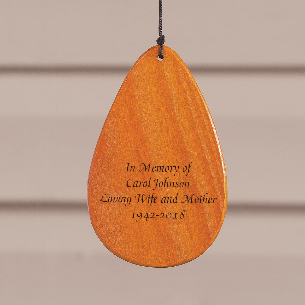 Personalized Wooden Windchime-366630
