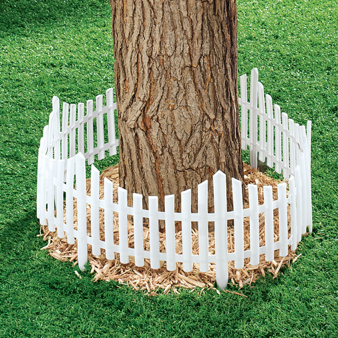 Flexible Fence Edging, Set of 4-366635