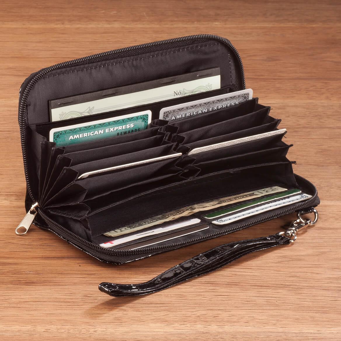 Accordian Checkbook Wallet-366698