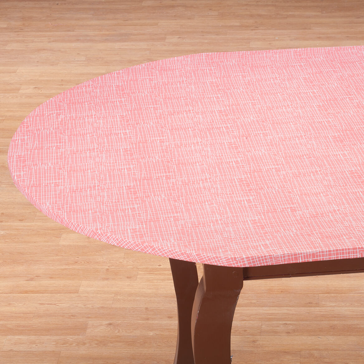 Straw Elastic Round Table Cover-367000