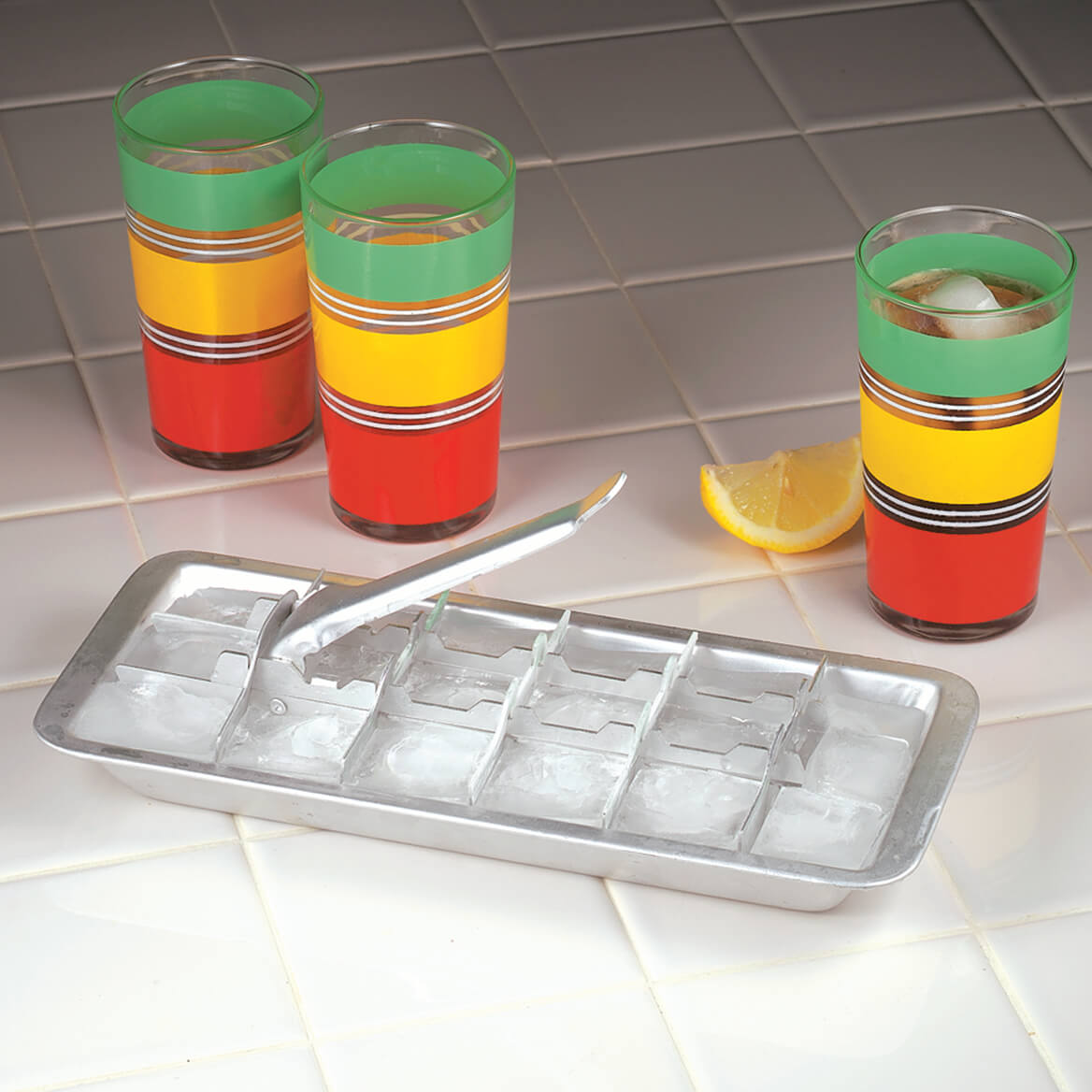 Aluminim Ice Cube Tray Set of 2-367113