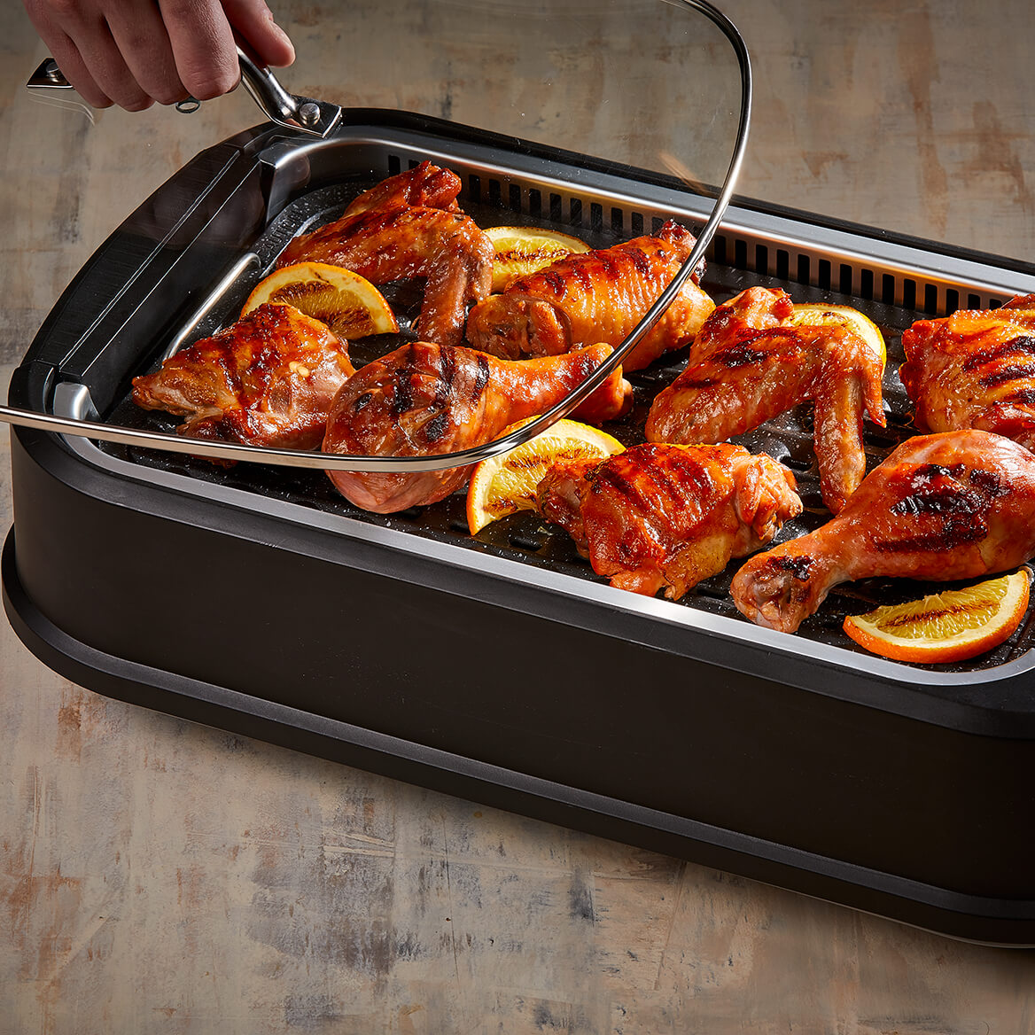 As Seen on TV Power Smokeless Grill-367174