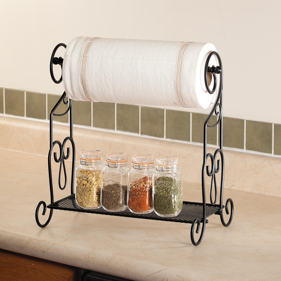 Home Marketplace Kitchen Paper Towel Rack & Organizer-367199