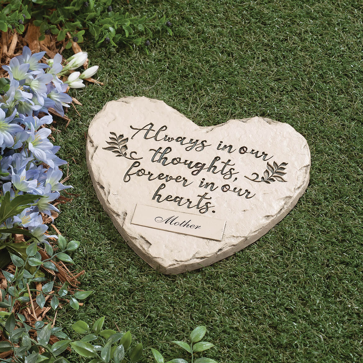 """Personalized """"Forever in our Hearts"""" Memorial Stone-367364"""