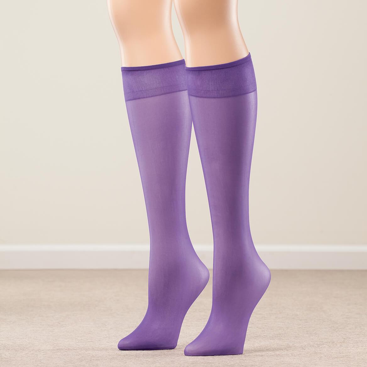 Nylon Knee Highs, Set of 20 Pairs-367416