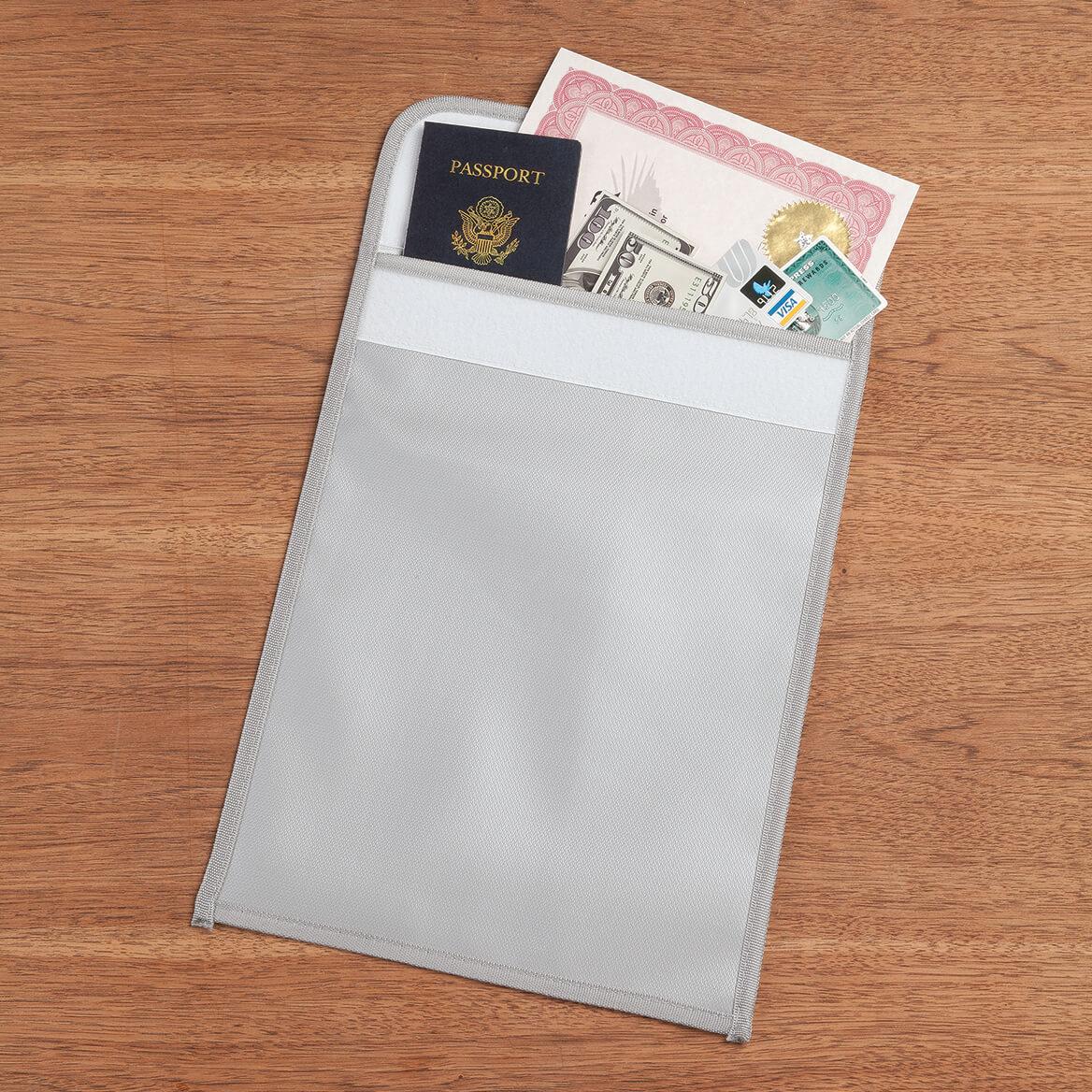 "Fireproof Document Bag 11"" x 15""-367461"